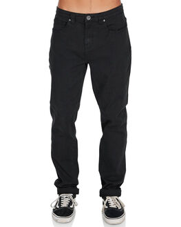 BLACK MENS CLOTHING BILLABONG JEANS - 9595352BLK