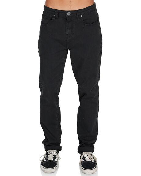 BLACK MENS CLOTHING BILLABONG JEANS - 9595352BLK