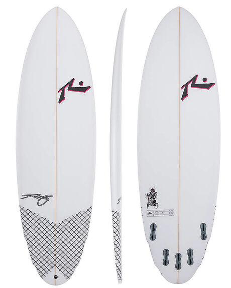CLEAR BOARDSPORTS SURF RUSTY SURFBOARDS - RUDWARTCLR