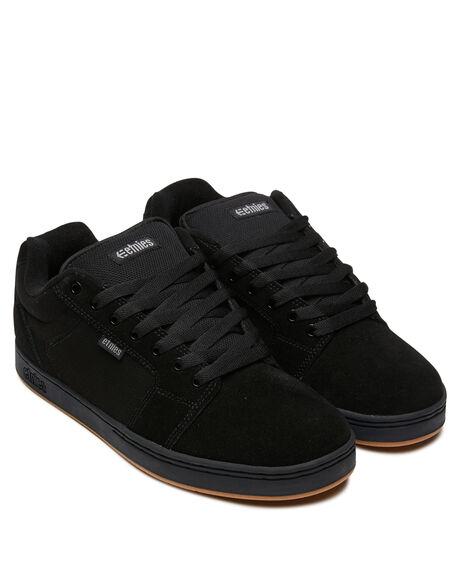 BLACK MENS FOOTWEAR ETNIES SNEAKERS - 4101000480001