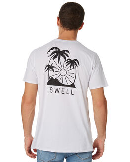 WHITE MENS CLOTHING SWELL TEES - S5182013WHITE