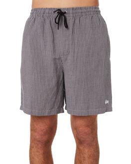 CHARCOAL MENS CLOTHING STUSSY SHORTS - ST092606CHA
