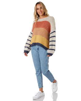 MULTICO WOMENS CLOTHING RIP CURL KNITS + CARDIGANS - GSWBS83282