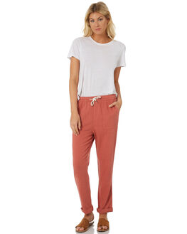 RUST WOMENS CLOTHING SWELL PANTS - S8184194RUST