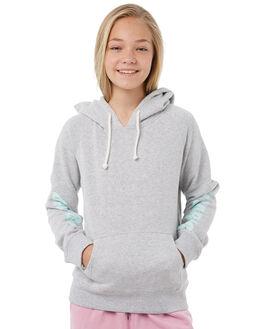 GREY MARLE KIDS GIRLS BILLABONG JUMPERS - 5585732GRY