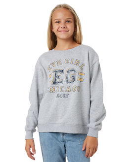 GREY MARLE KIDS GIRLS EVES SISTER JUMPERS + JACKETS - 9550010GRM