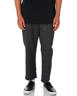 DARK CHECK MENS CLOTHING STUSSY PANTS - ST006601DCHK
