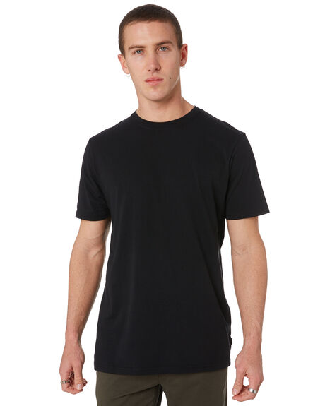 WASHED BLACK MENS CLOTHING RIP CURL TEES - CTESZ28264