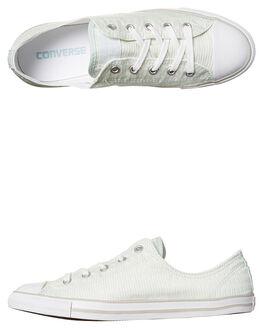 FIBERGLASS WHITE WOMENS FOOTWEAR CONVERSE SNEAKERS - 555867FIBR
