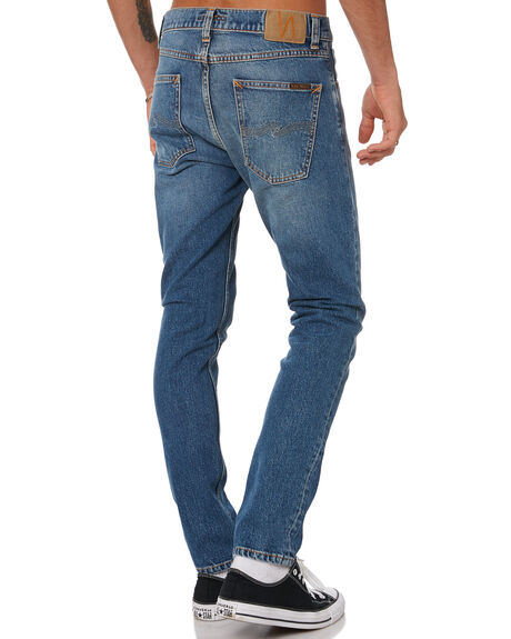 INDIGO EXILE MENS CLOTHING NUDIE JEANS CO JEANS - 113671INDEX