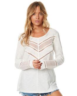 OFF WHITE WOMENS CLOTHING RIP CURL FASHION TOPS - GTETD10003