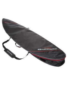BLACK RED BOARDSPORTS SURF OCEAN AND EARTH BOARDCOVERS - SCSB13BLKRE