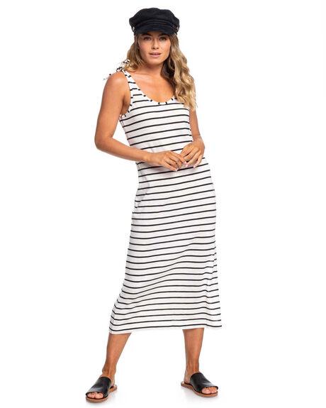 ANTHRACITE WOMENS CLOTHING ROXY DRESSES - ERJKD03280-KVJ4