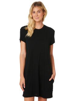 BLACK WOMENS CLOTHING RUSTY DRESSES - DRL0952BLK