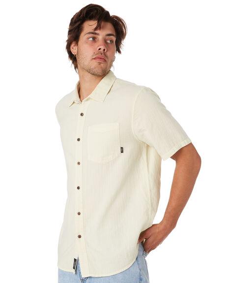 TIKI WHITE MENS CLOTHING THRILLS SHIRTS - TS9-200ATKWHT