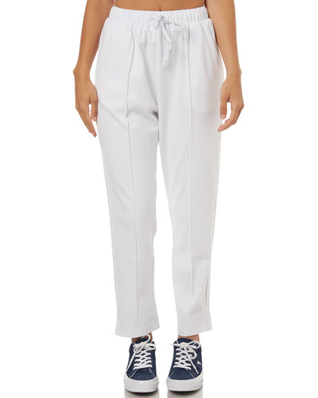 WHITE WOMENS CLOTHING STUSSY PANTS - ST173602WHT