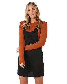 BLACK WOMENS CLOTHING O'NEILL DRESSES - 5721612BLK