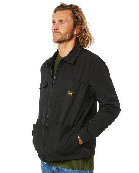 BLACK MENS CLOTHING DEPACTUS JACKETS - D5211382BLACK