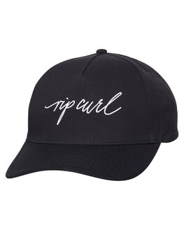 BLACK WOMENS ACCESSORIES RIP CURL HEADWEAR - GCADT10090