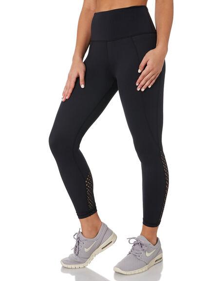 SUEDE BLACK WOMENS CLOTHING ARCAA MOVEMENT PANTS - 1A008-1SDEBK