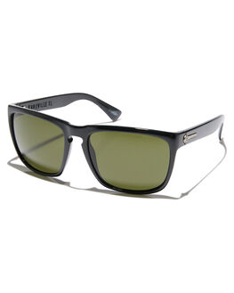 GLOSS BLACK GREY MENS ACCESSORIES ELECTRIC SUNGLASSES - EE11201620GBLK