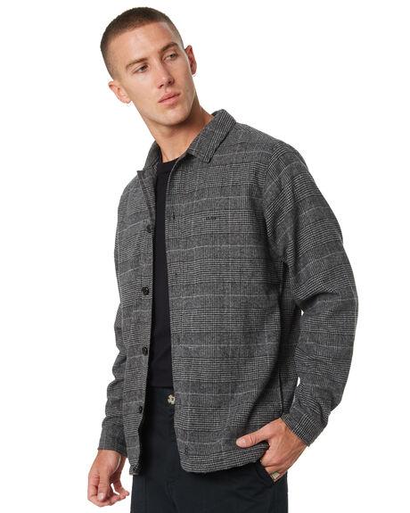 CHARCOAL MENS CLOTHING MISFIT SHIRTS - MT095404CHAR