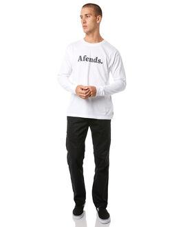 BLACK MENS CLOTHING AFENDS PANTS - M181400BLK