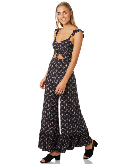 MIDNIGHT WOMENS CLOTHING TIGERLILY PLAYSUITS + OVERALLS - T393437MID