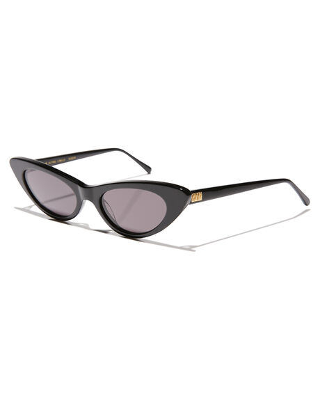 BLACK WOMENS ACCESSORIES CRAP SUNGLASSES - ULTRJ001GGBLK