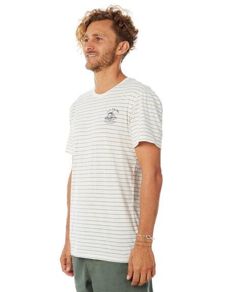 OLIVE MENS CLOTHING RHYTHM TEES - APR18M-CT05OLI