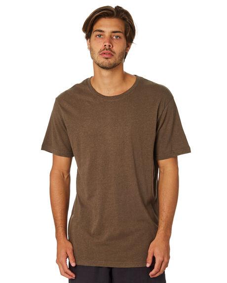 OLIVE MENS CLOTHING RHYTHM TEES - JAN19M-CT03-OLI
