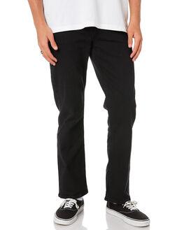 WORN BLACK MENS CLOTHING RIDERS BY LEE JEANS - R-501052-082WBLK