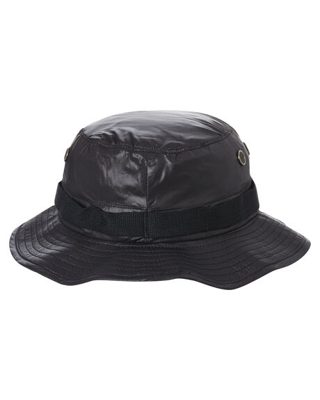 BLACK MENS ACCESSORIES STUSSY HEADWEAR - ST702009BLACK