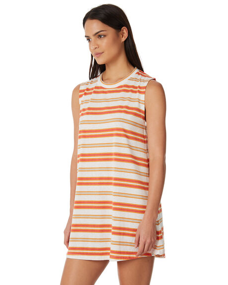 RED WOMENS CLOTHING RIP CURL DRESSES - GDRFY10040