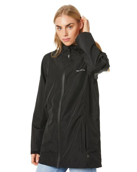 BLACK WOMENS CLOTHING RPM JACKETS - 20WW16BBLK