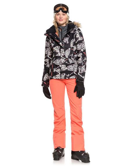 TRUE BLACK BOARDSPORTS SNOW ROXY WOMENS - ERJTJ03205-KVJ7
