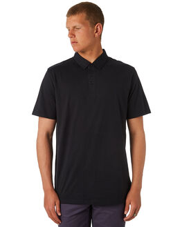 BLACK MENS CLOTHING VOLCOM SHIRTS - A0111700BLK