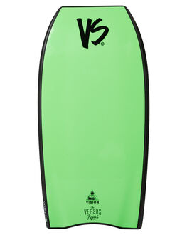 BLACK FLURO GREEN BOARDSPORTS SURF VS BODYBOARDS BODYBOARDS - VSVISIONBLKFG