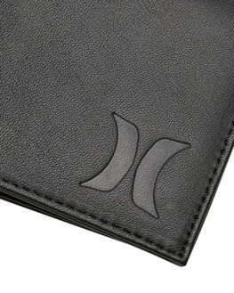 BLACK MENS ACCESSORIES HURLEY WALLETS - HU0026010