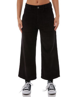 VINTAGE BLACK WOMENS CLOTHING RUSTY PANTS - PAL1036VBL