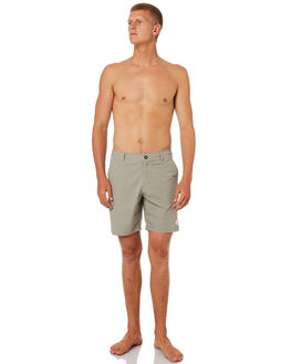 WARM GREY MENS CLOTHING KATIN SHORTS - TRCRE01WGRY