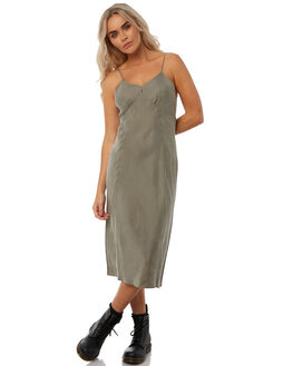SAGE WOMENS CLOTHING THRILLS DRESSES - WTH8-913FSAG
