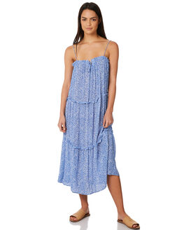 BLUE SPECKLE WOMENS CLOTHING ELWOOD DRESSES - W84714BLU