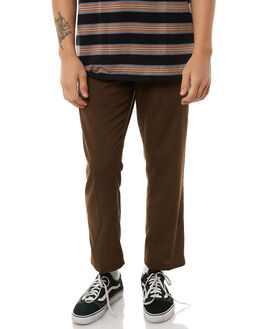 DARK CHOCOLATE MENS CLOTHING VOLCOM PANTS - A1111850DCH