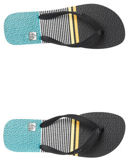 ORANGE STRIPE MENS FOOTWEAR REEF THONGS - 220ORS