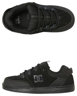 BLACK KIDS BOYS DC SHOES SNEAKERS - ADBS1002573BK