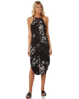 BLACK WOMENS CLOTHING HURLEY DRESSES - AJ2658010
