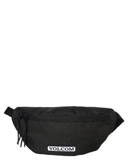BLACK MENS ACCESSORIES VOLCOM BAGS + BACKPACKS - D6541900BLK