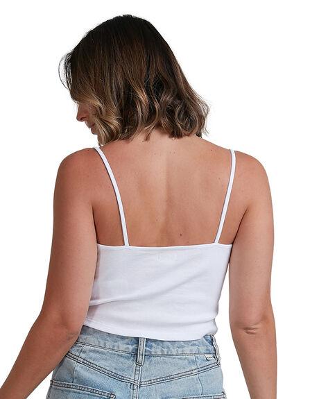 WHITE WOMENS CLOTHING BILLABONG FASHION TOPS - BB-6503177-WHT