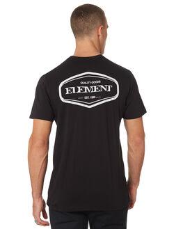 FLINT BLACK MENS CLOTHING ELEMENT TEES - 196019FLBLK